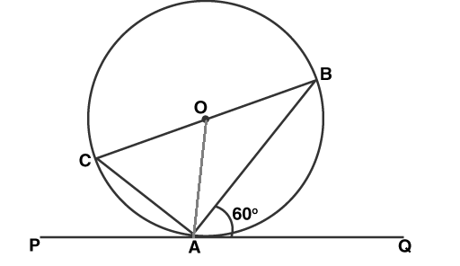 CBSE Class 10 Maths Chapter 10 Circle Objective Question 20 Solution Image