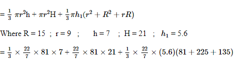 CBSE Class 10 Maths Chapter 13- Surface Areas and Volumes Question 10 Solution Image