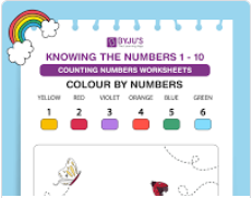 colour by number worksheet (numbers upto 10)-1