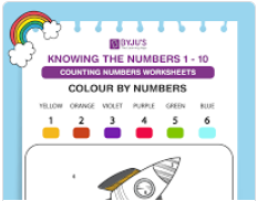colour by number worksheet (numbers upto 10)-2