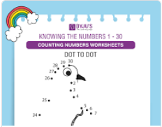 colour by number worksheet (numbers upto 30)-1