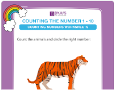 Count and circle the correct number worksheet (numbers upto 10)-1