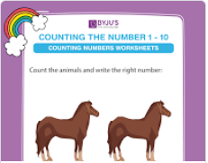 Count and circle the correct number worksheet (numbers upto 10)-2
