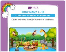 Maths Worksheet For Class 1 Download Free 1st Grade Worksheets