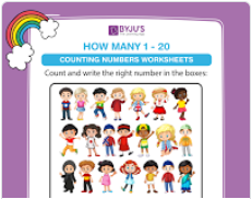 Counting worksheet (numbers upto 20)-1