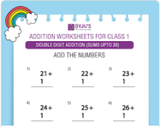 Double digit addition (Sums upto 30)-1