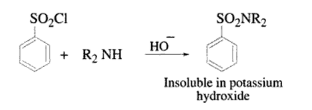 Hinsberg Test for Secondary Amines