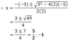 NCERT Exemplar For Class 10 Maths Chapter 2 Ex. 4.3 Question 1-i