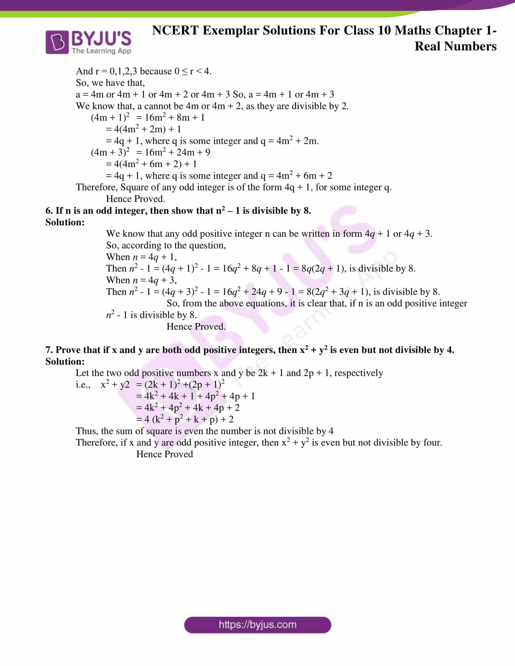 ncert exemplar for class 10 maths chapter 1