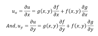 Partial Derivative-Product Rule