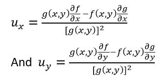 Partial Derivative-Quotient Rule