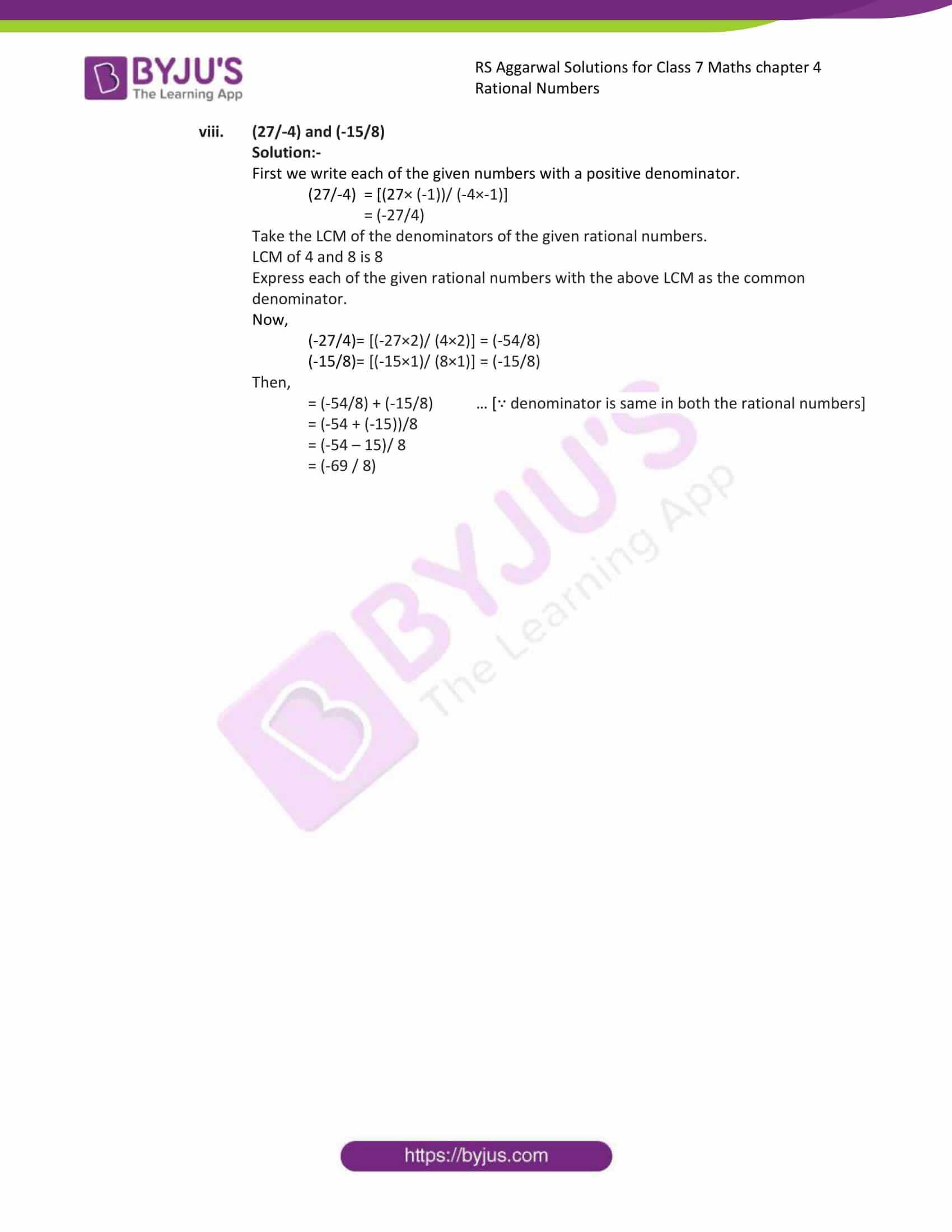 rs aggarwal solution class 7 maths chapter ex 4c