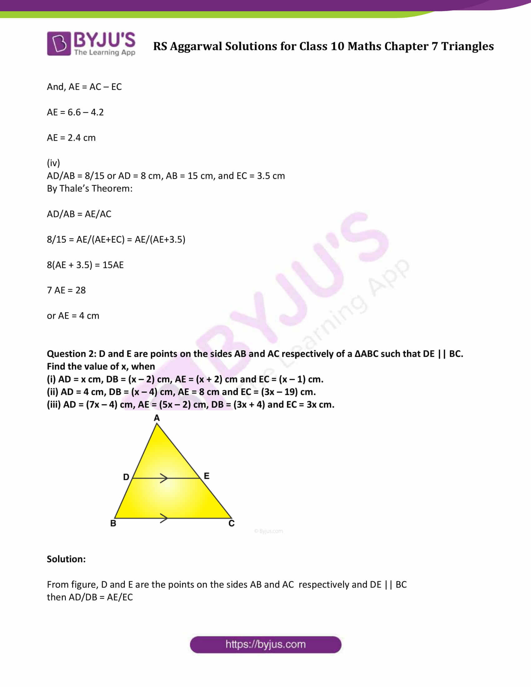 RS Aggarwal Solutions Class 10 Maths Chapter 7 Ex 7a 03