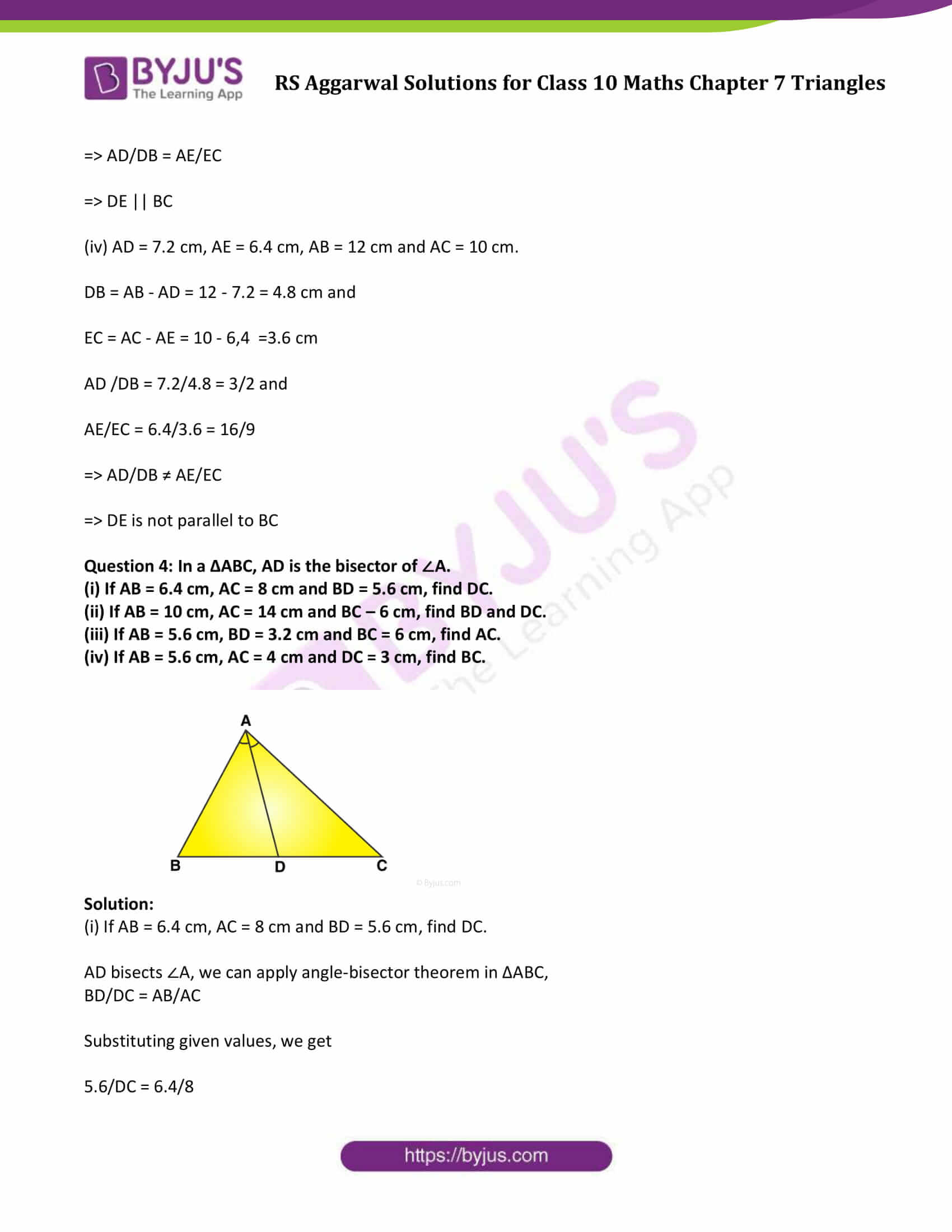 RS Aggarwal Solutions Class 10 Maths Chapter 7 Ex 7a 06