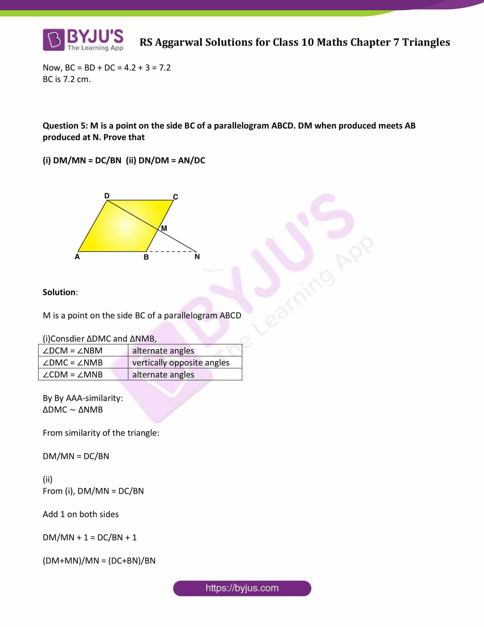 RS Aggarwal Solutions Class 10 Maths Chapter 7 Ex 7a 08