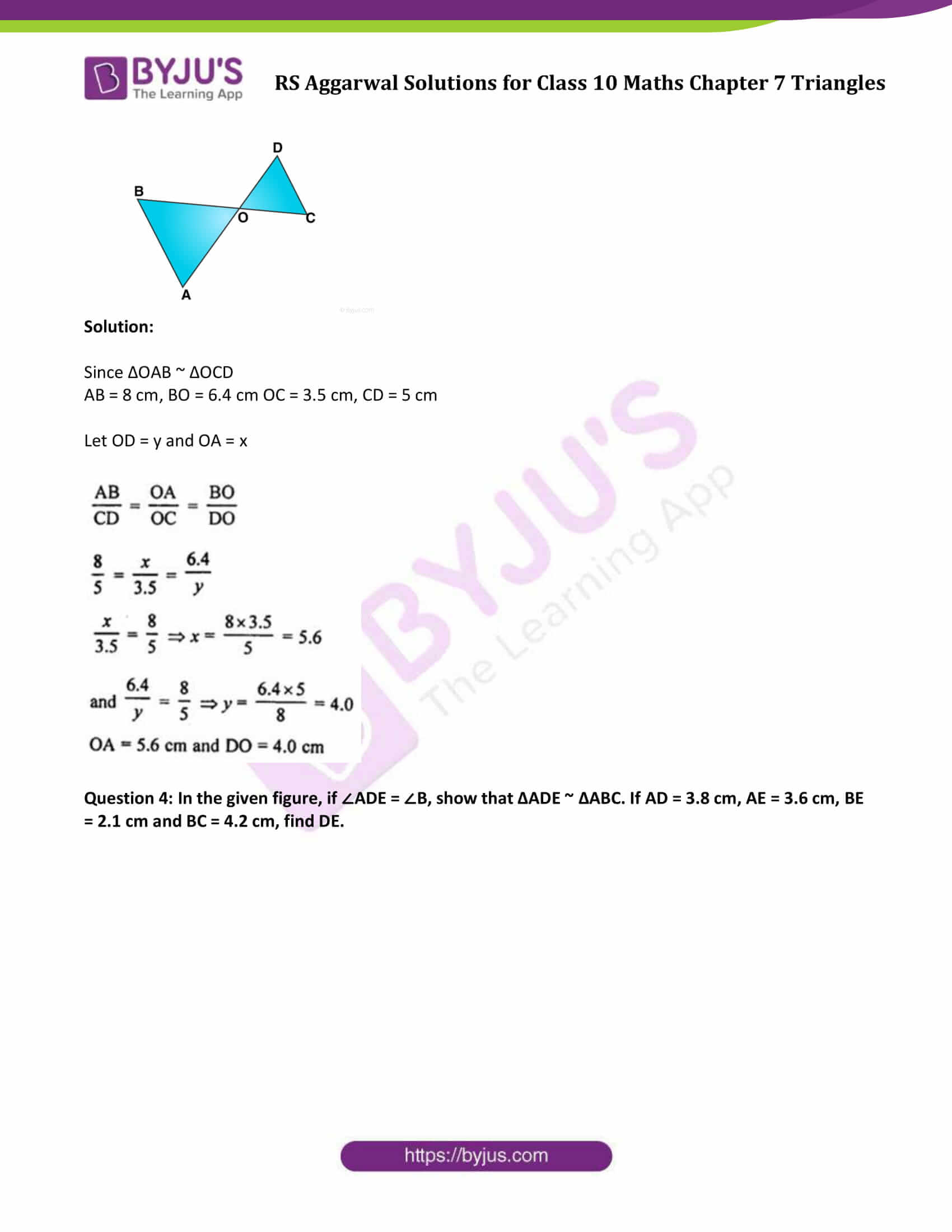 RS Aggarwal Solutions Class 10 Maths Chapter 7 Ex 7b 5