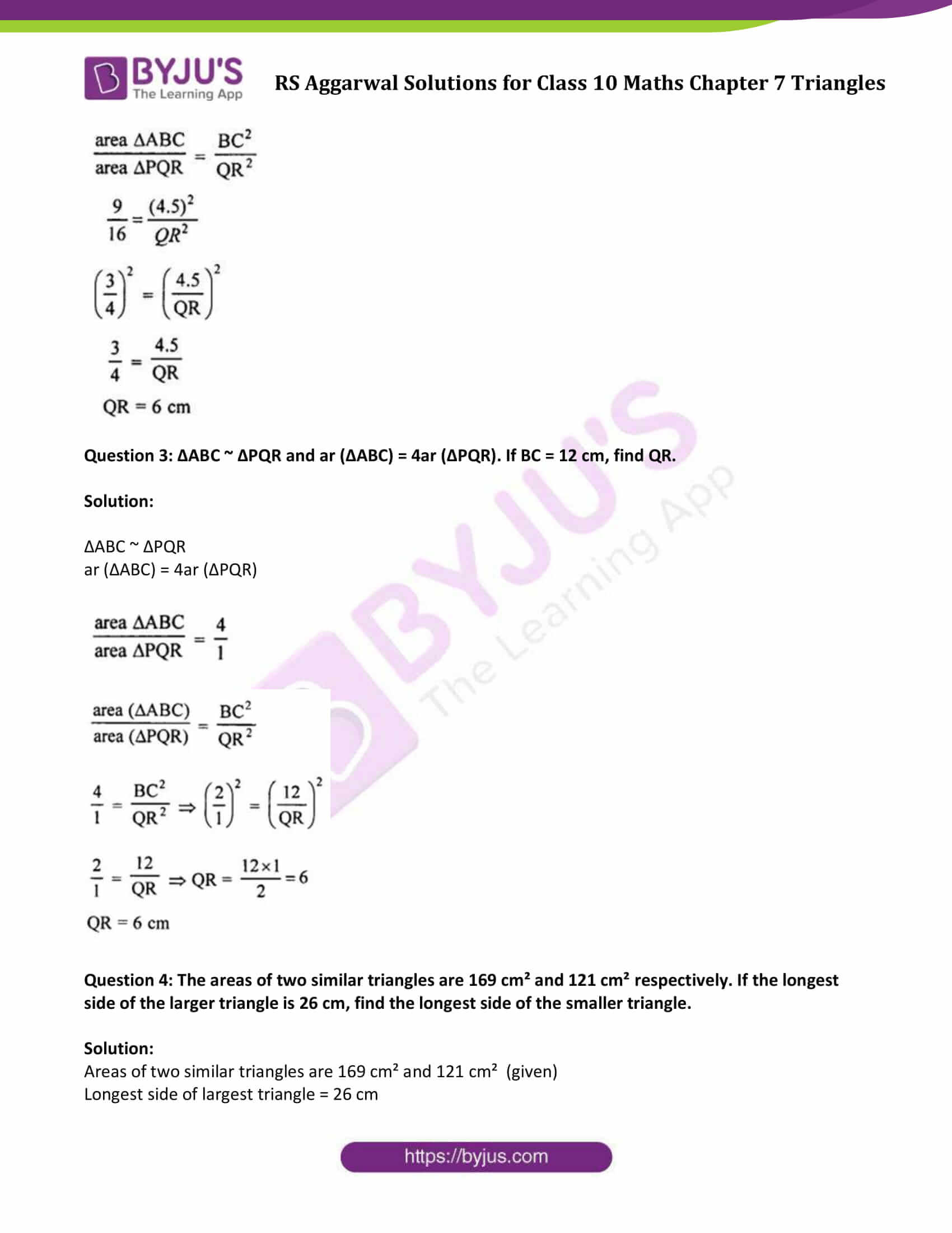 RS Aggarwal Solutions Class 10 Maths Chapter 7 Ex 7c 2