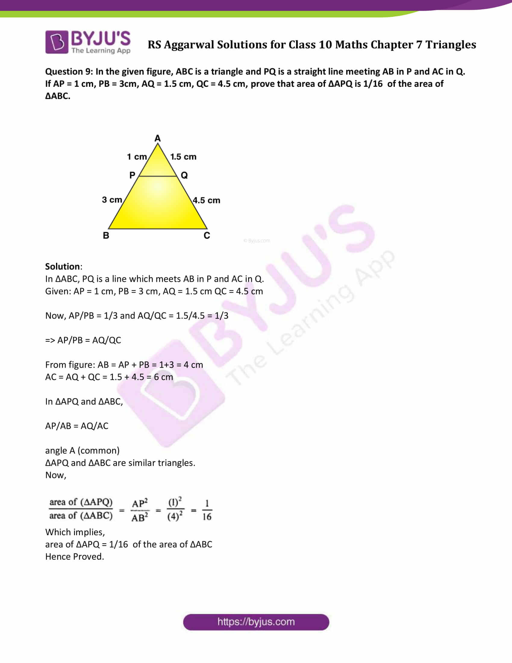RS Aggarwal Solutions Class 10 Maths Chapter 7 Ex 7c 6