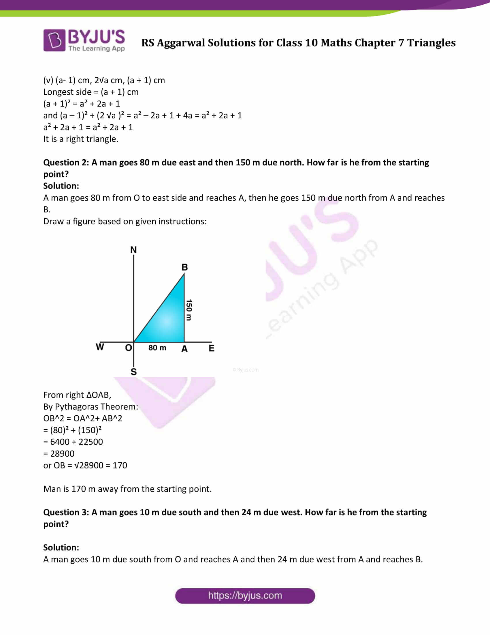 RS Aggarwal Solutions Class 10 Maths Chapter 7 Ex 7d 2