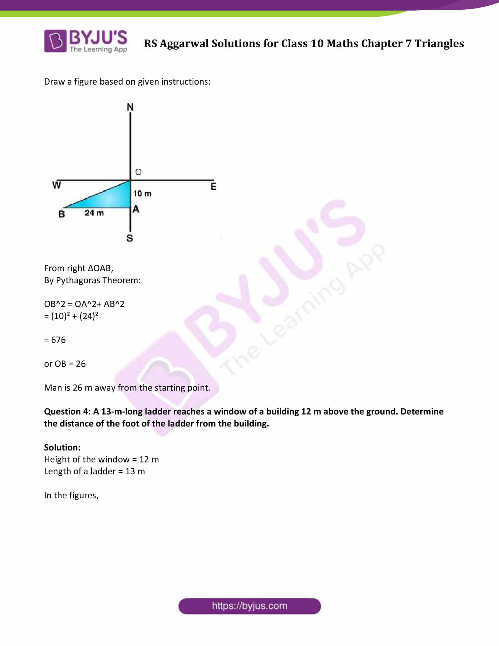 RS Aggarwal Solutions Class 10 Maths Chapter 7 Ex 7d 3