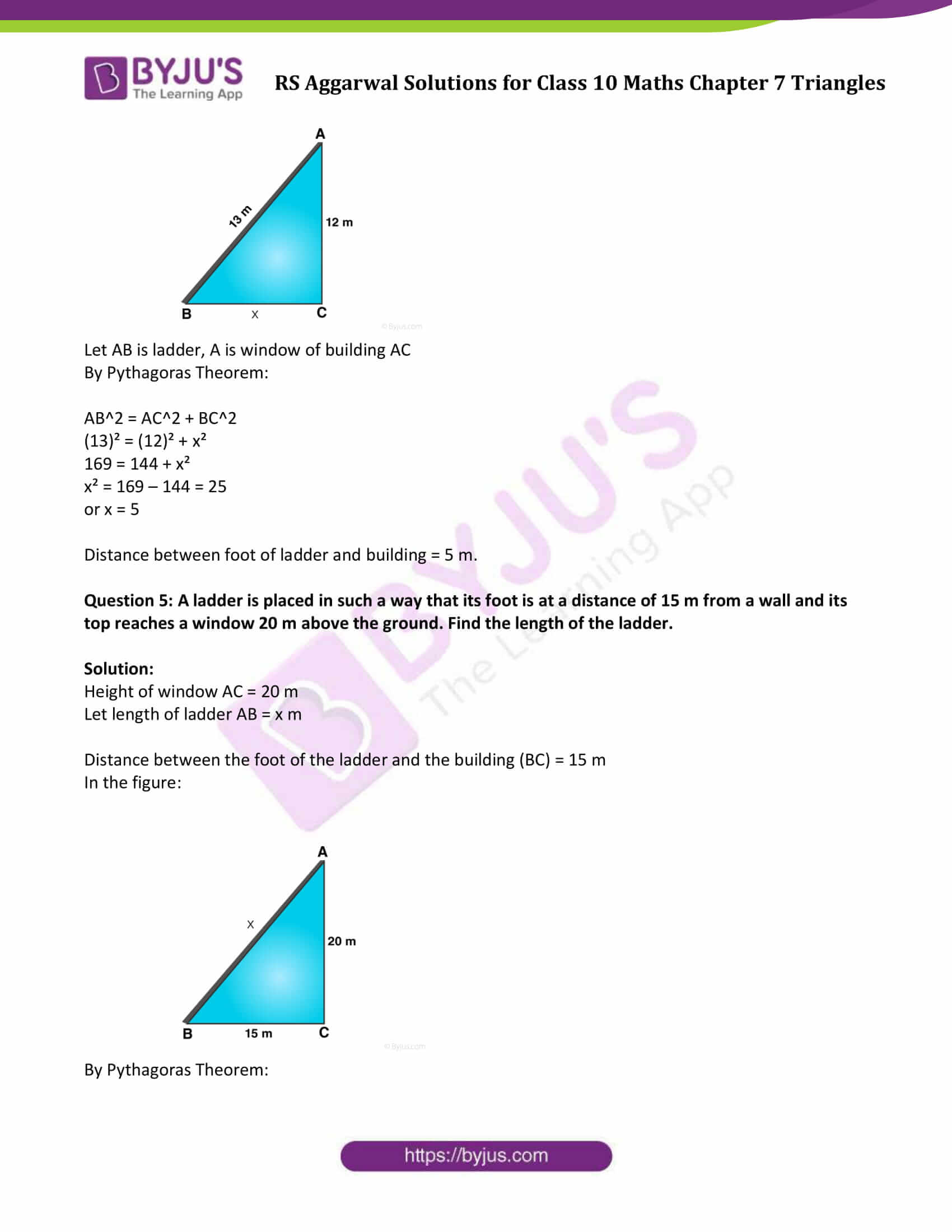 RS Aggarwal Solutions Class 10 Maths Chapter 7 Ex 7d 4