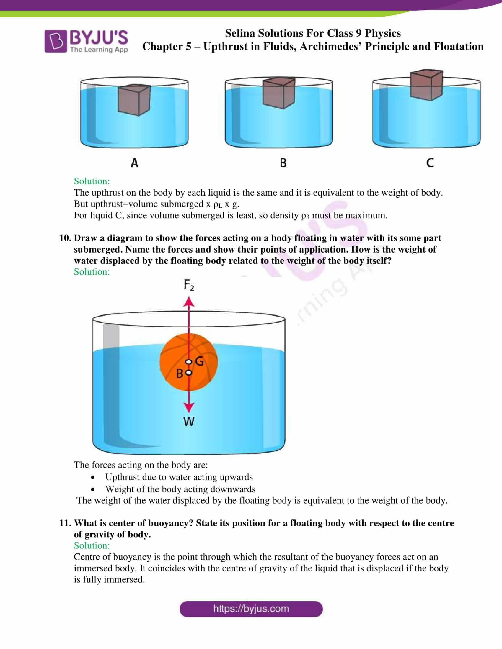 selina solutions class 9 physics chapter 5 part 25