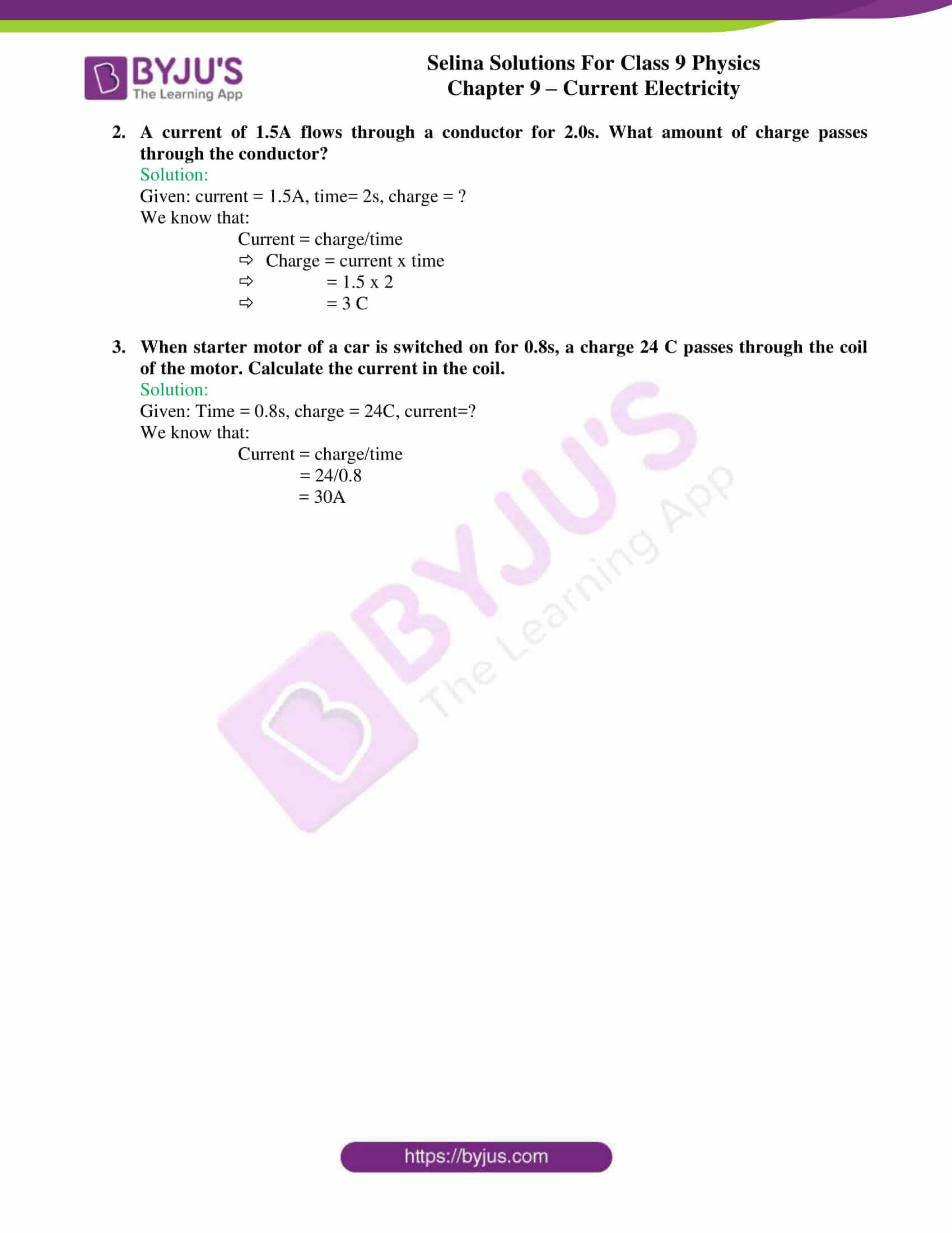 selina solutions class 9 physics chapter 9 Current Electricity part 08