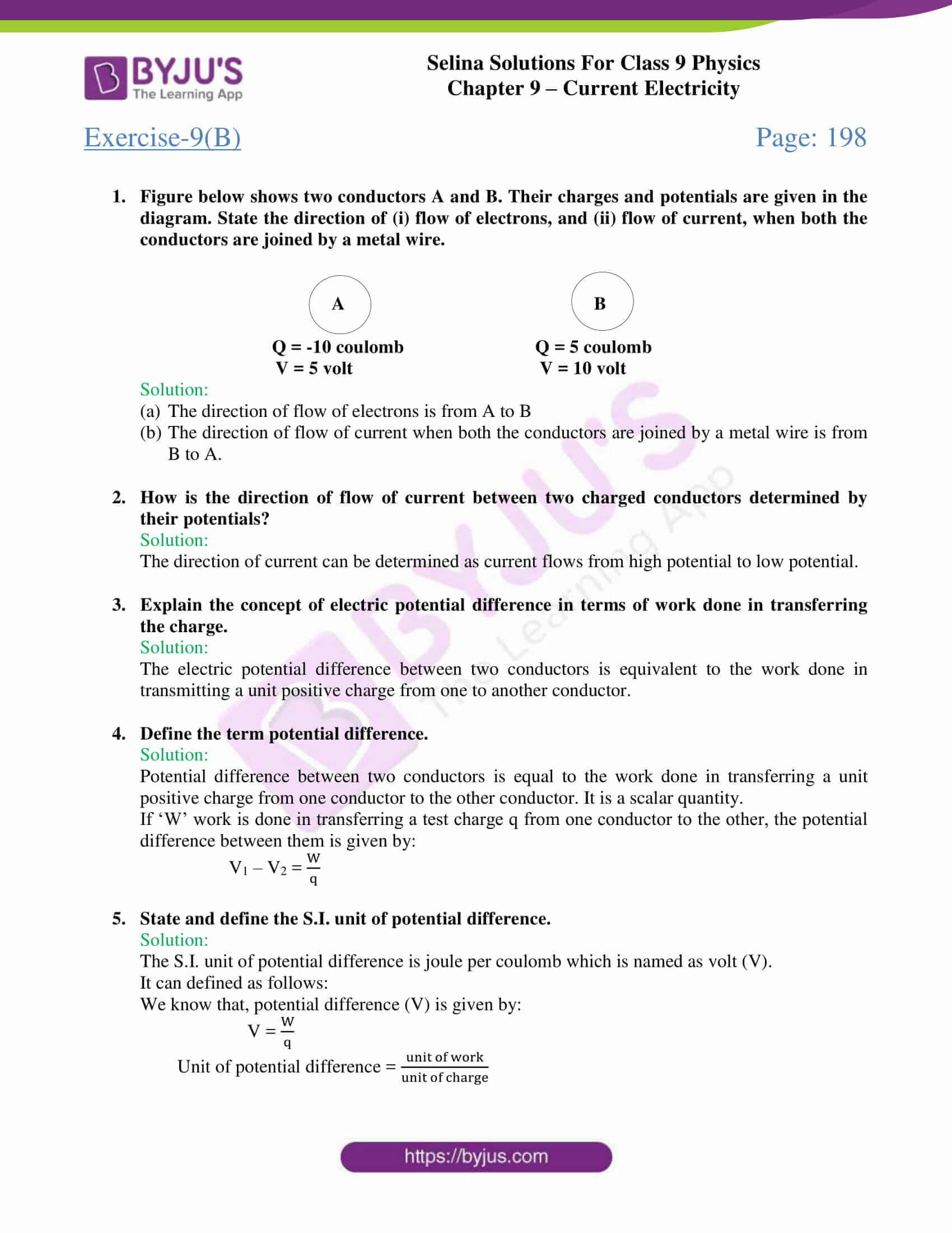 selina solutions class 9 physics chapter 9 Current Electricity part 09