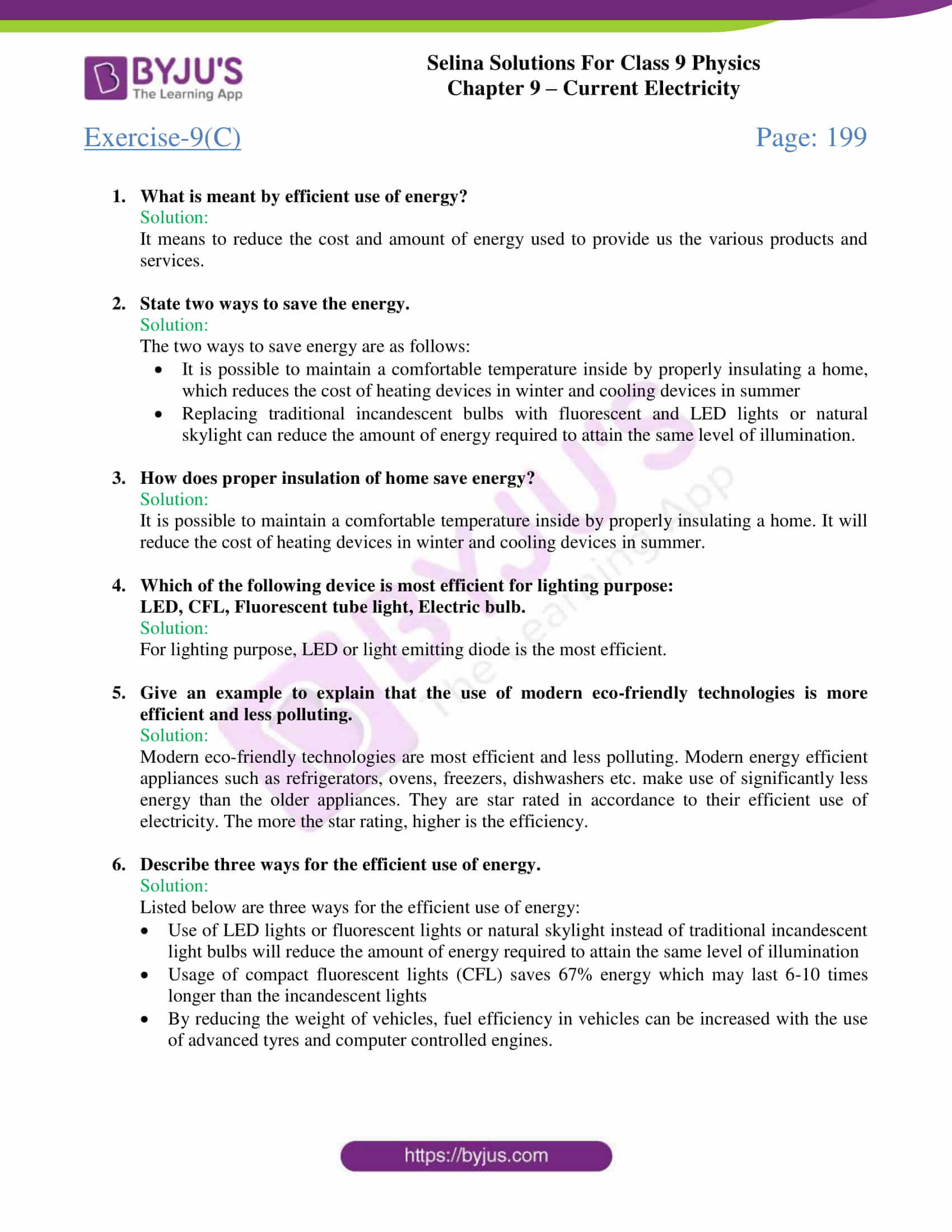 selina solutions class 9 physics chapter 9 Current Electricity part 14
