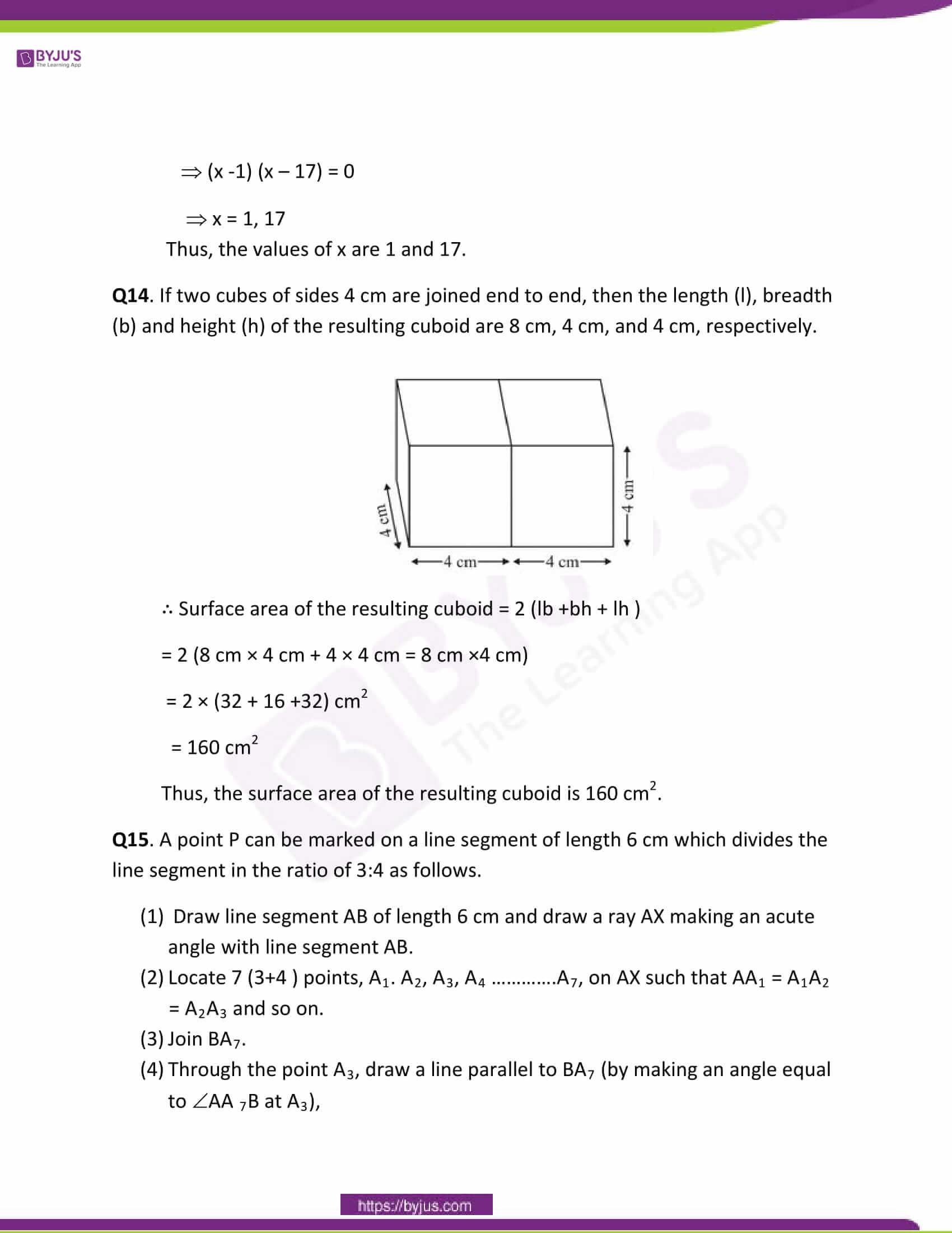 CBSE Class 10 Maths Papers Solution 2011 08