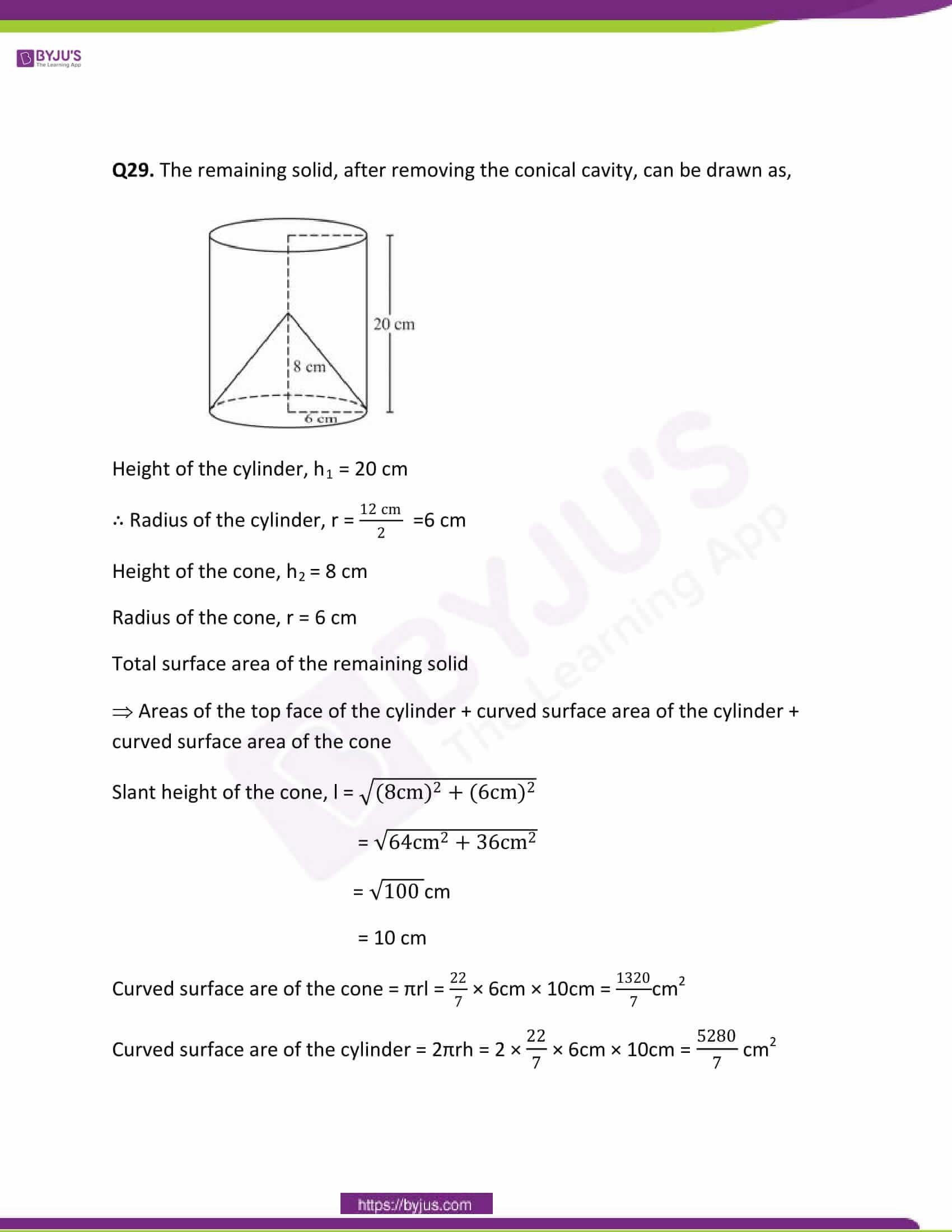 CBSE Class 10 Maths Papers Solution 2011 22