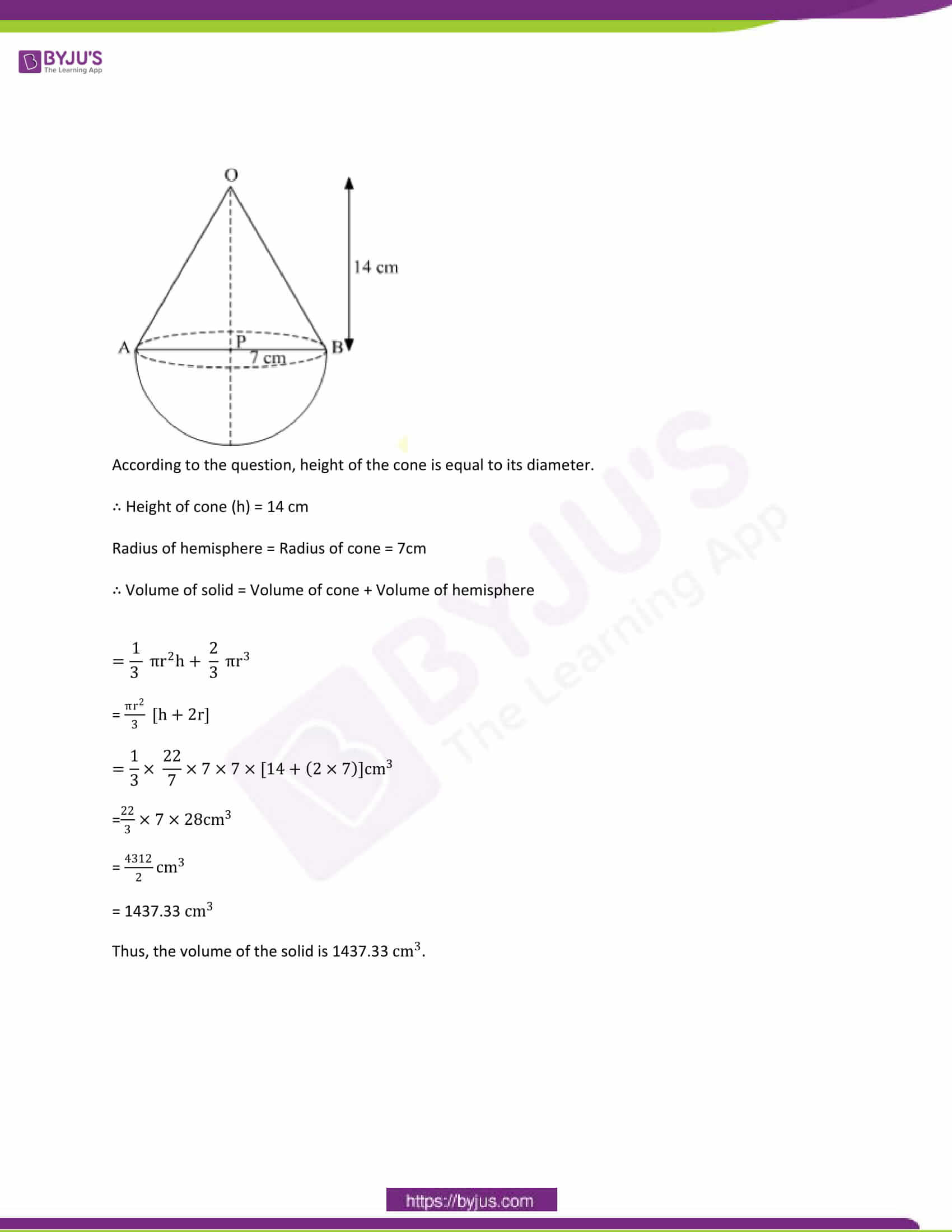 CBSE Class 10 Maths Papers Solution 2012 29