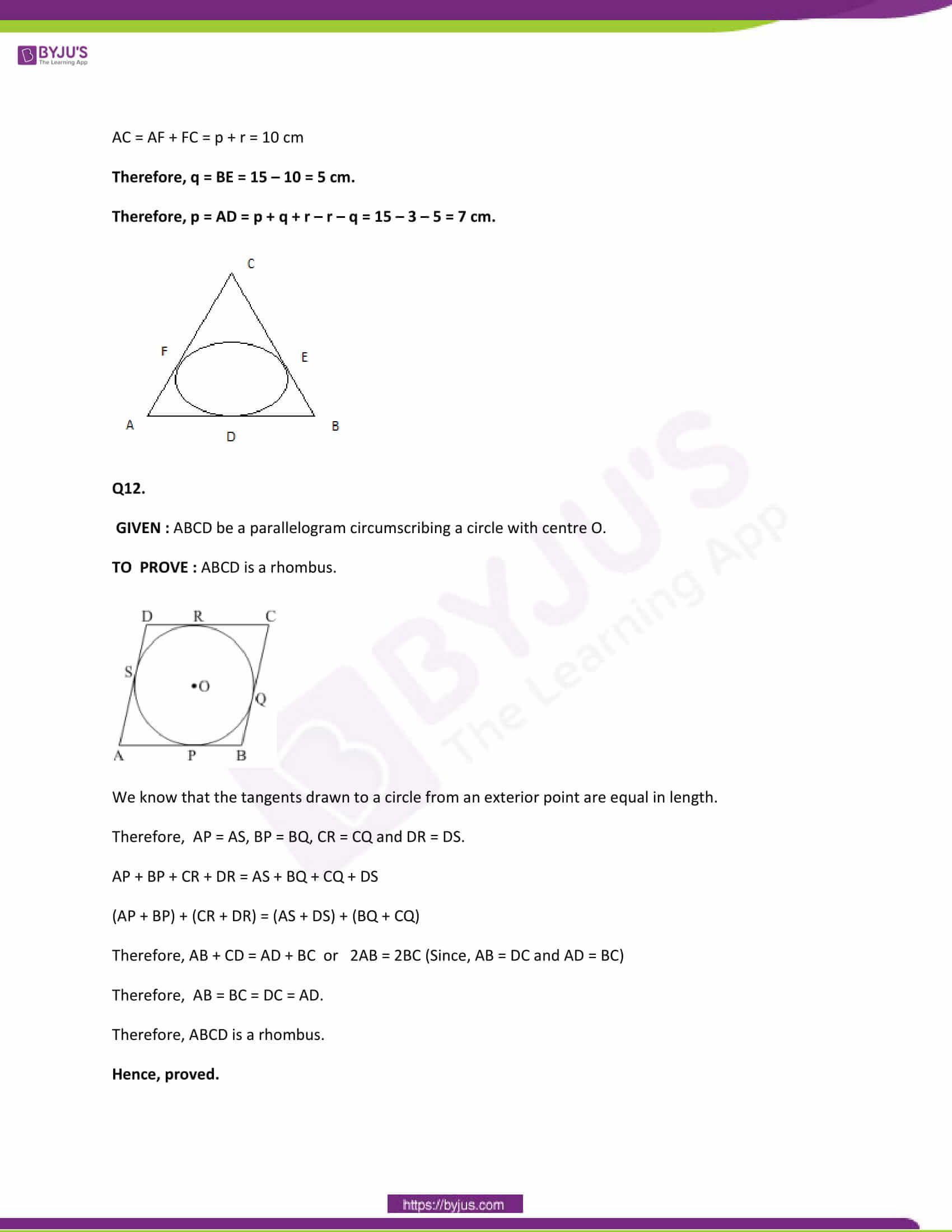 CBSE Class 10 Maths Papers Solution 2013 06