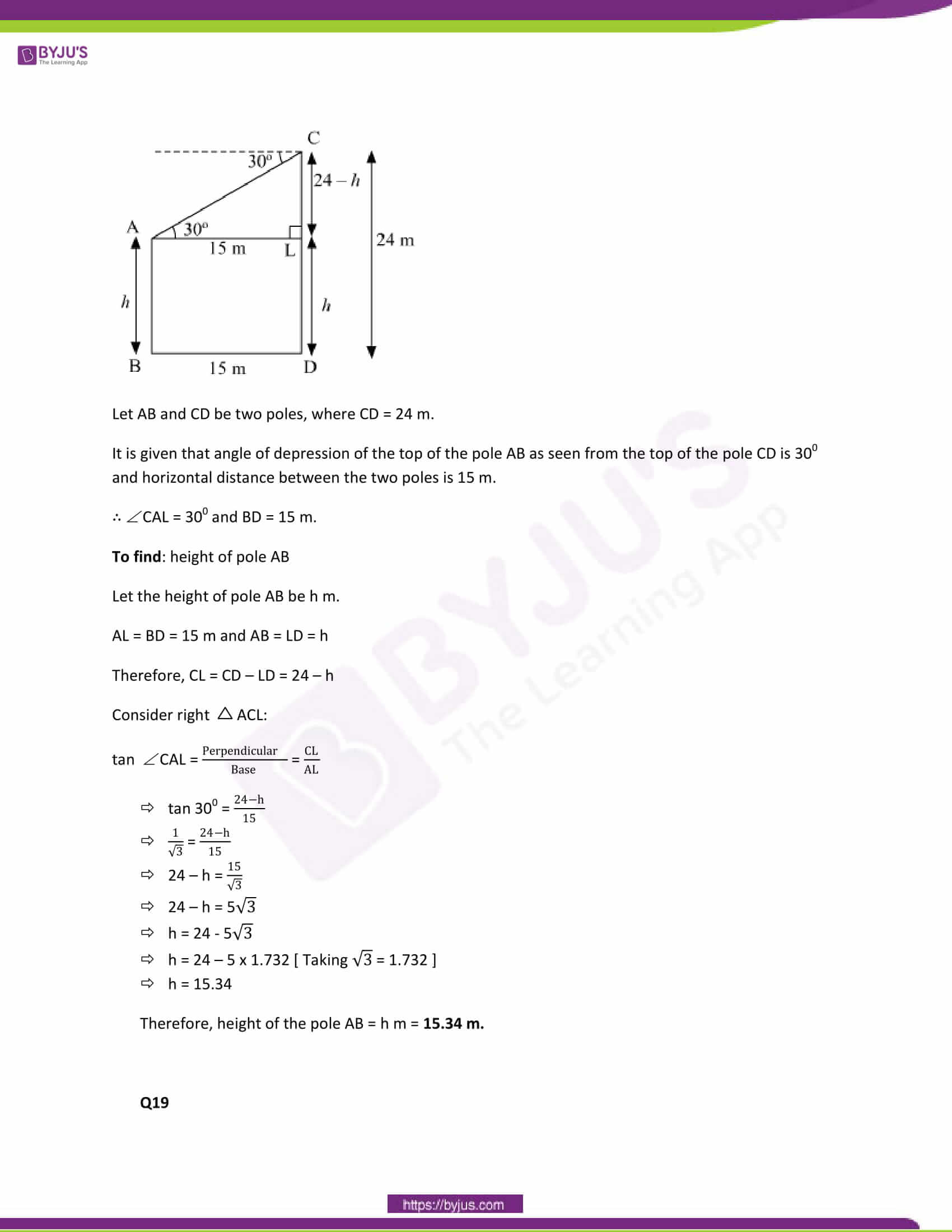 CBSE Class 10 Maths Papers Solution 2013 10