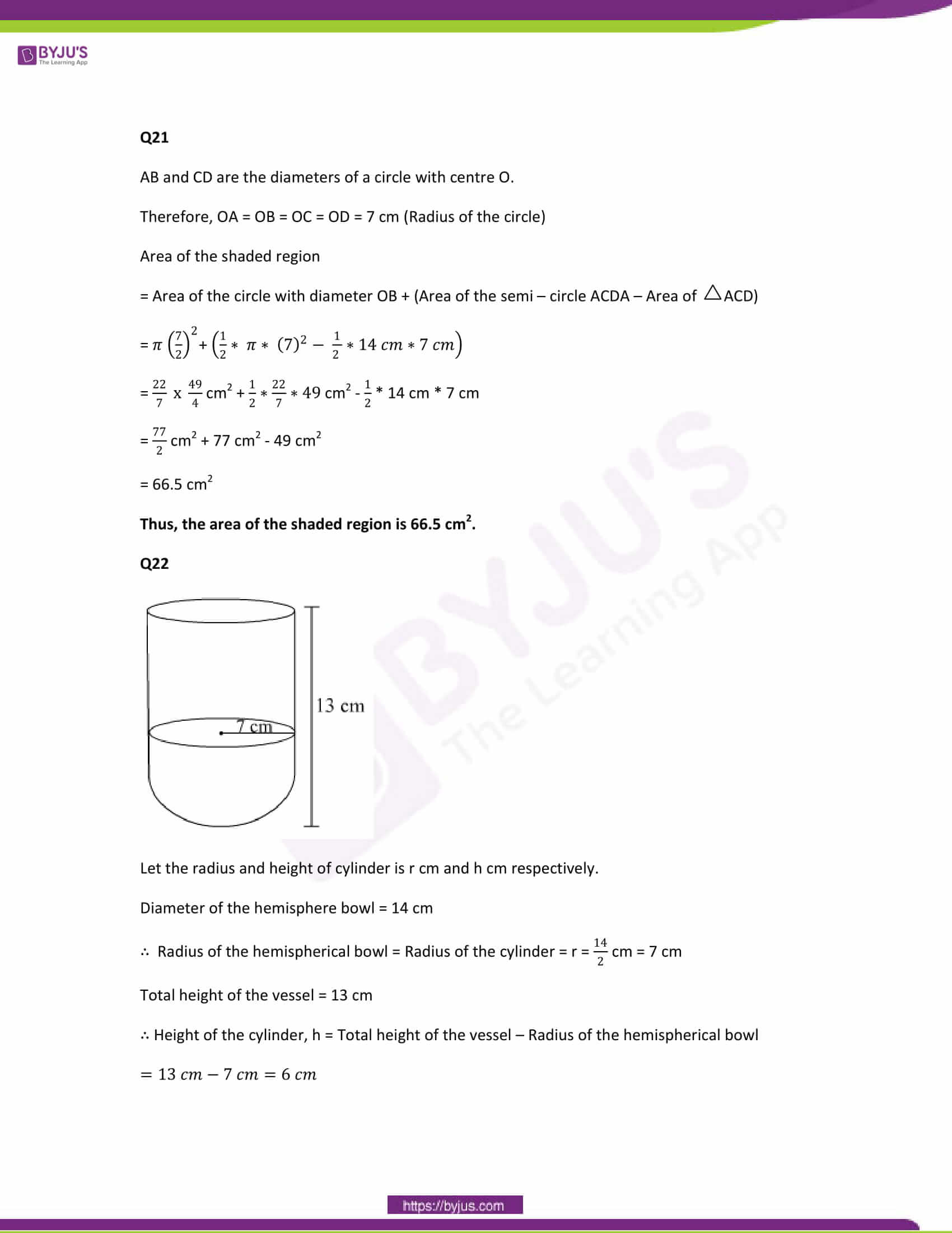 CBSE Class 10 Maths Papers Solution 2013 12