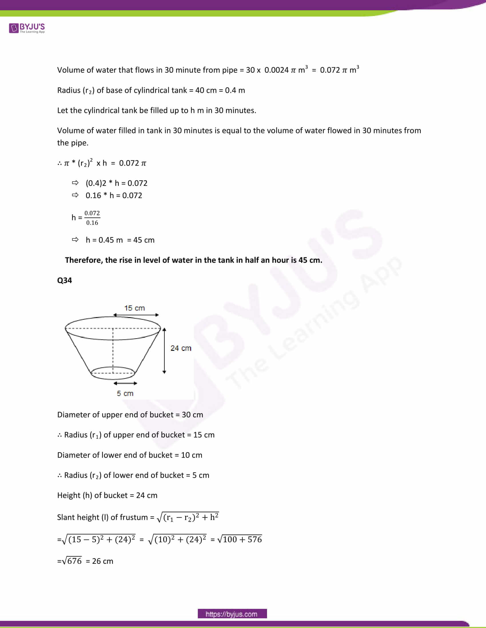 CBSE Class 10 Maths Papers Solution 2013 20