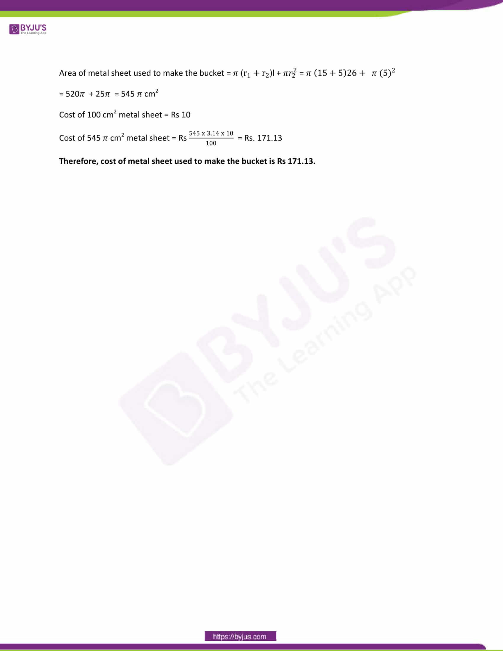 CBSE Class 10 Maths Papers Solution 2013 21