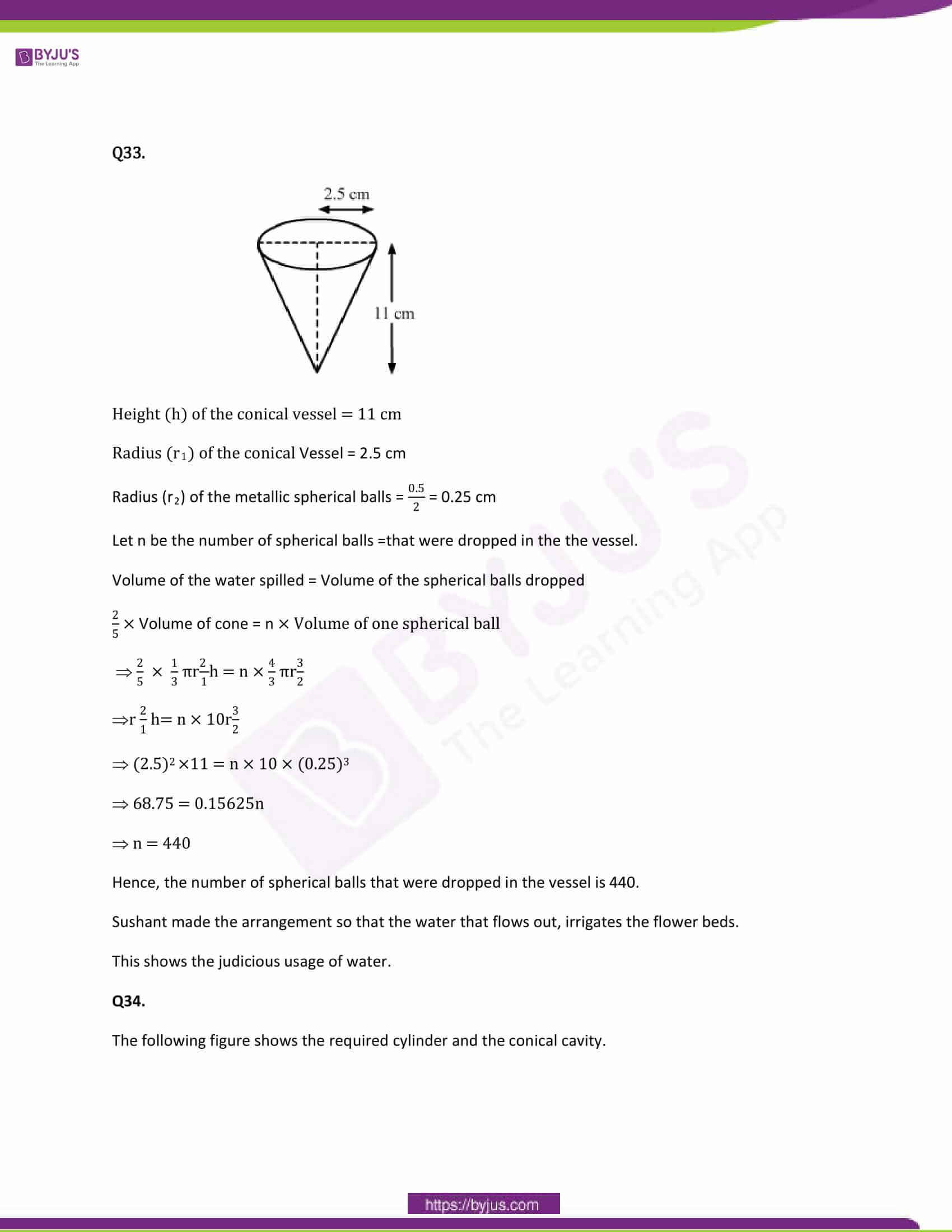 CBSE Class 10 Maths Papers Solution 2014 24