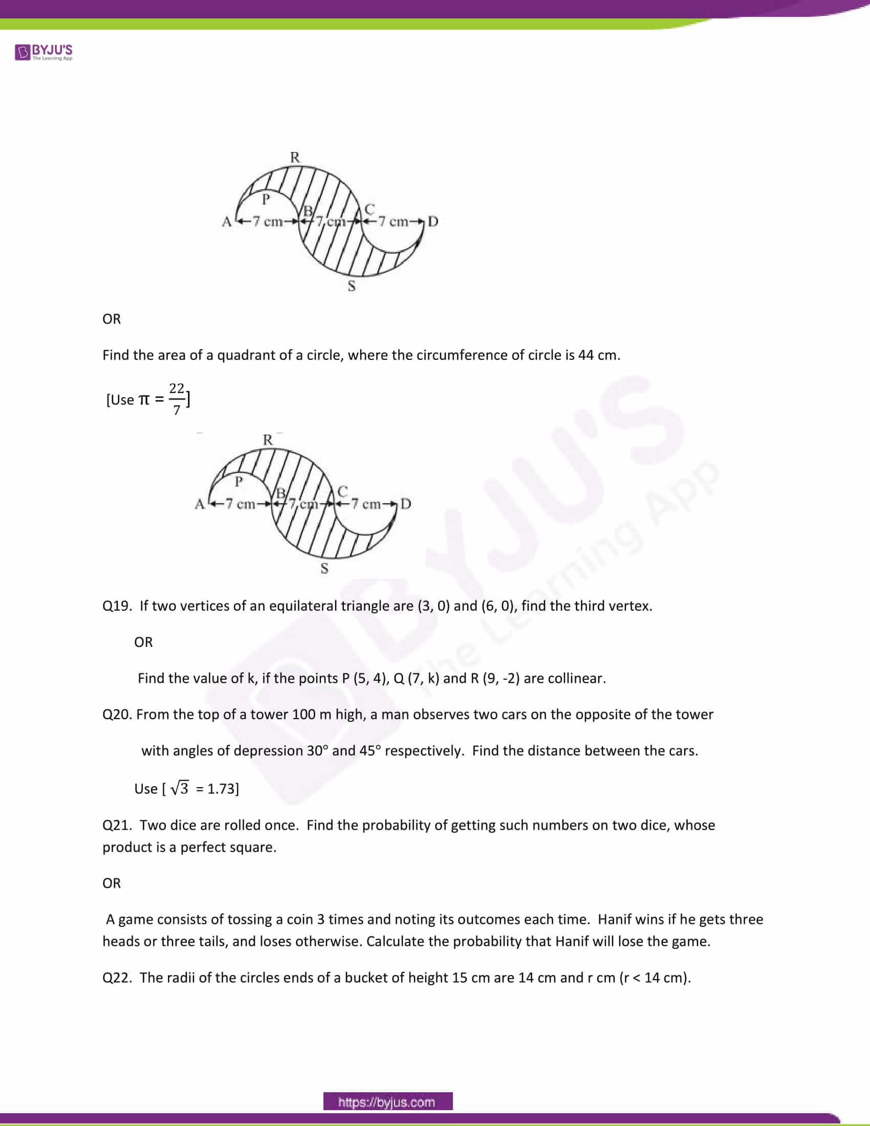 CBSE Class 10 Maths Question Papers 2011 4