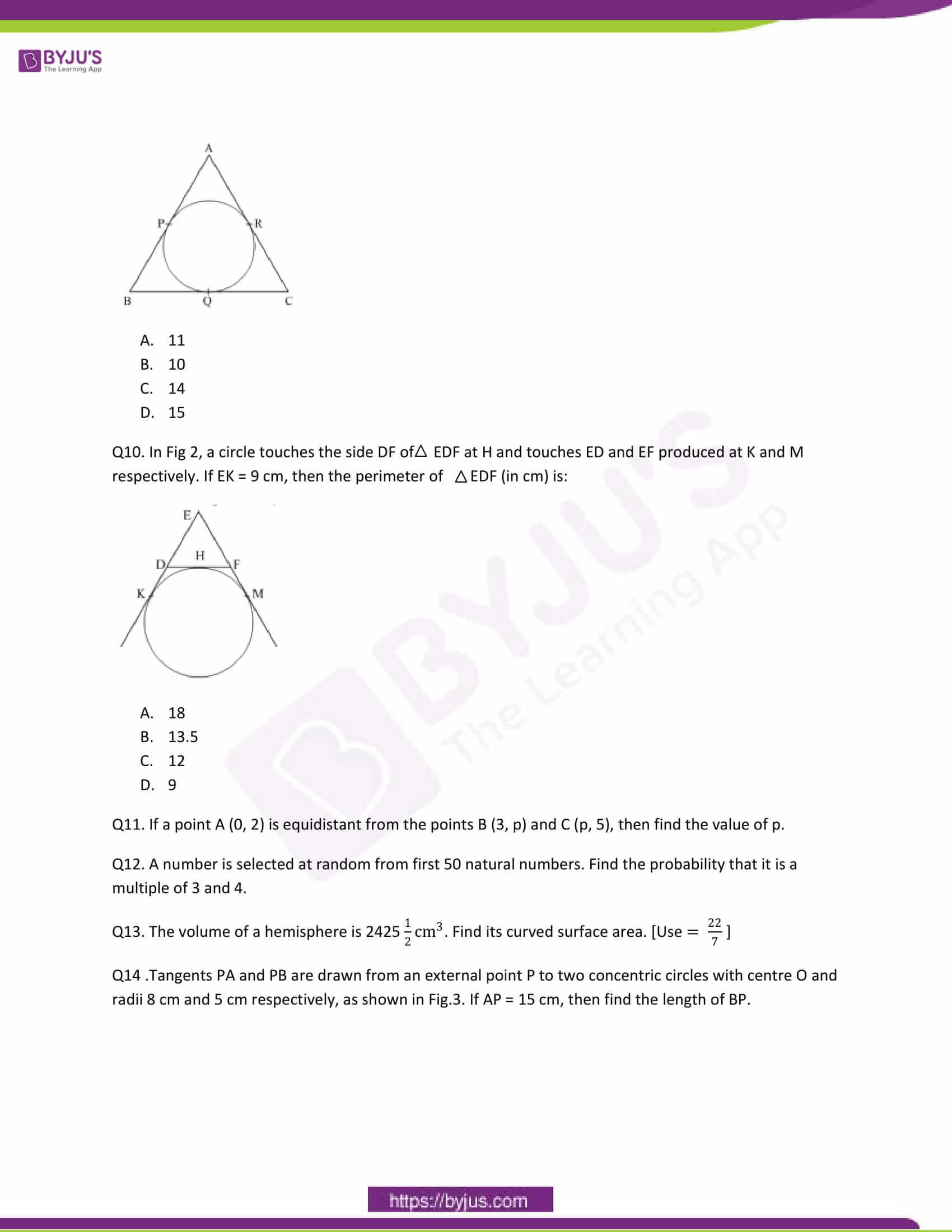 CBSE Class 10 Maths Question Papers 2012 3