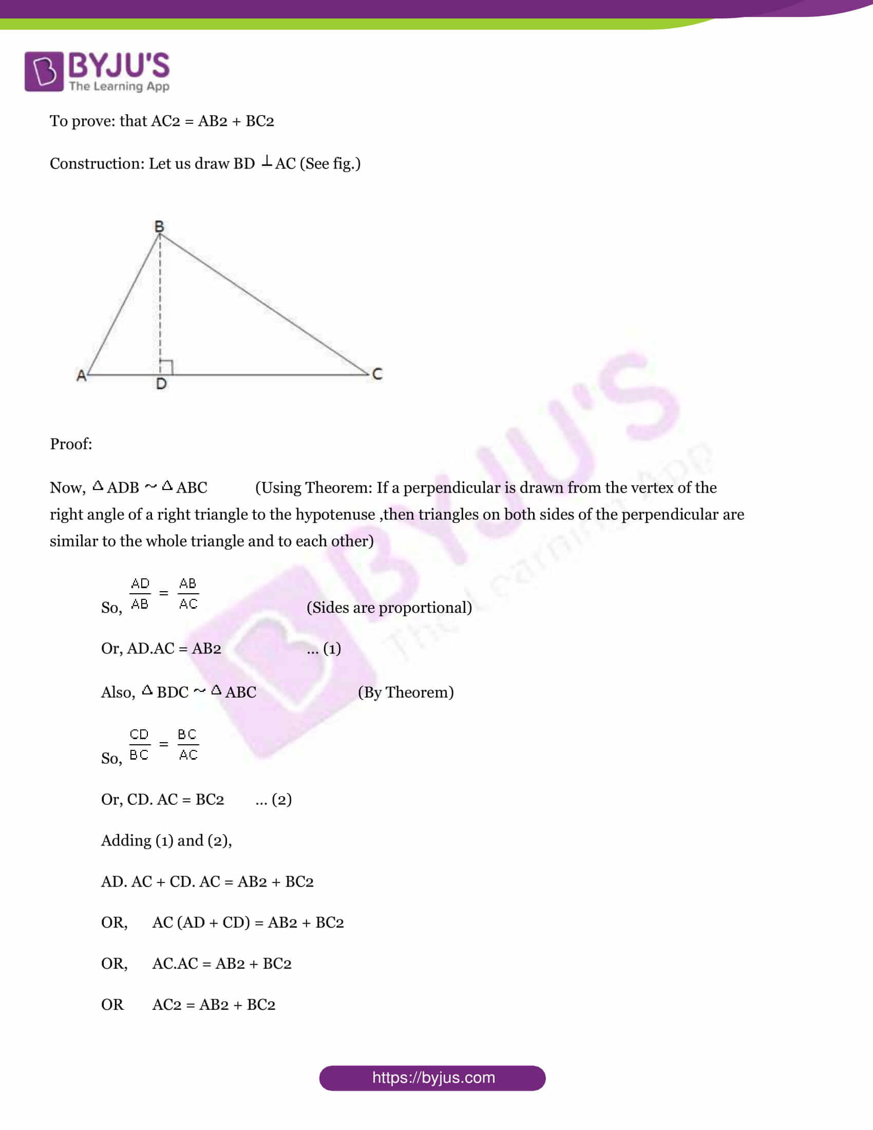 Cbse class 10 maths sample paper set 9