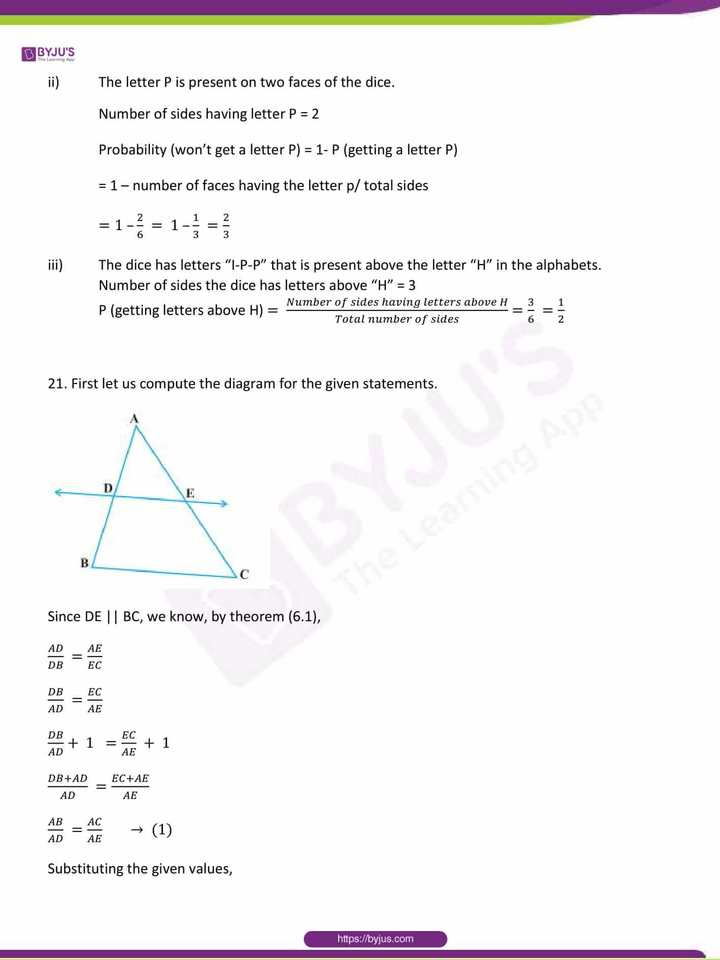 CBSE Class 10 Maths Sample Paper Solution Set 1-13