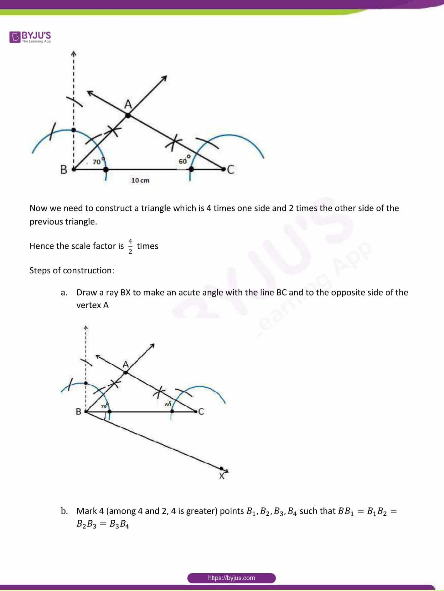 CBSE Class 10 Maths Sample Paper Solution Set 1-16