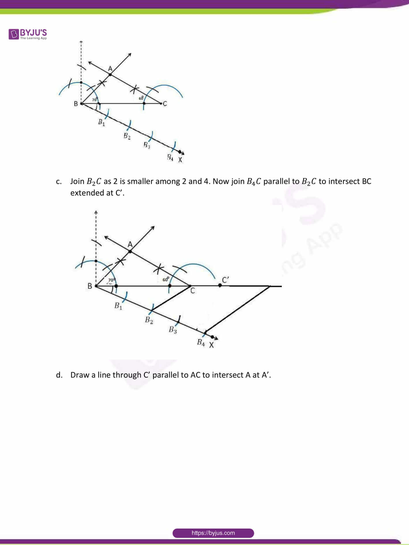 CBSE Class 10 Maths Sample Paper Solution Set 1-17