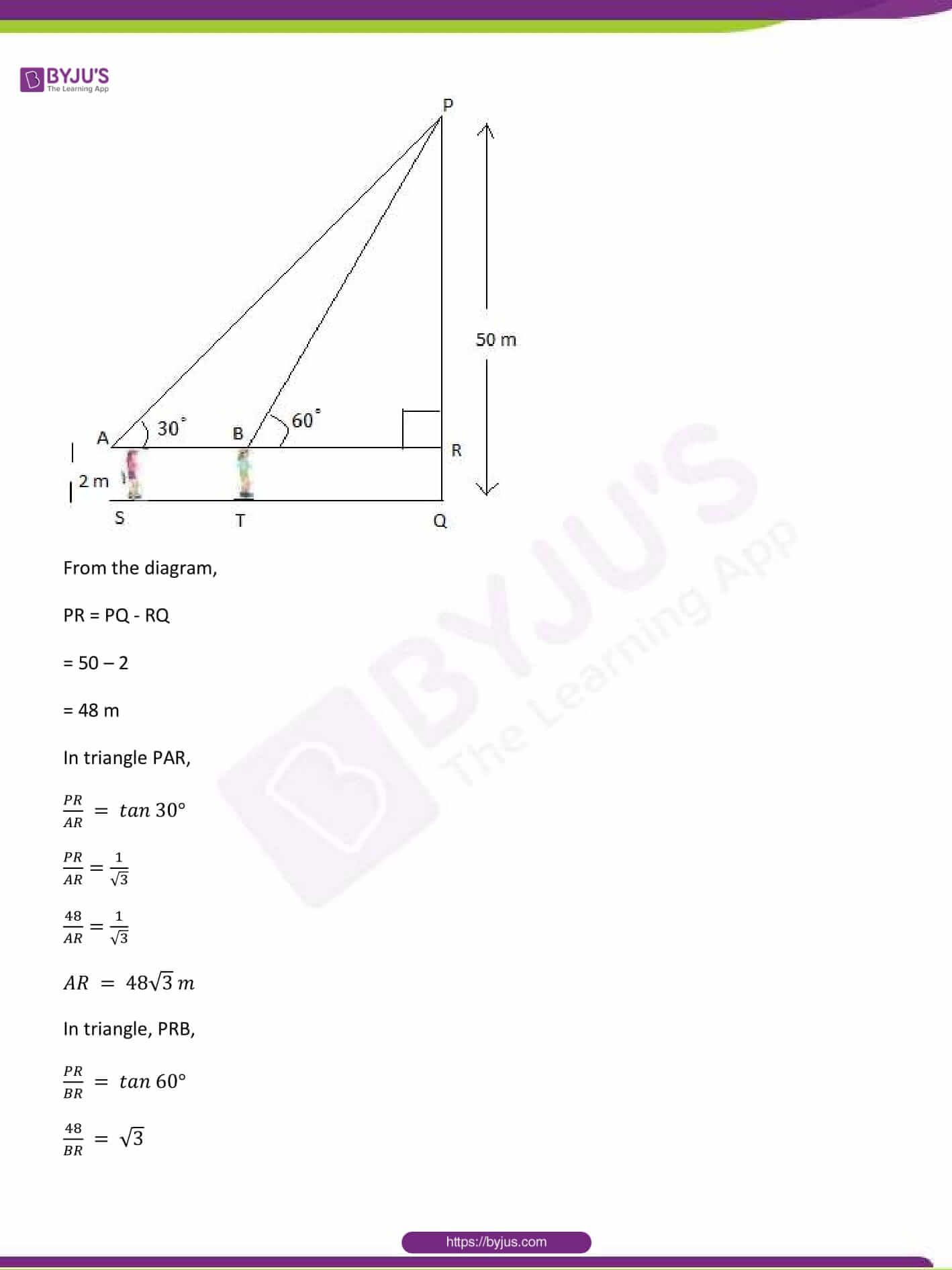 CBSE Class 10 Maths Sample Paper Solution Set 1-24