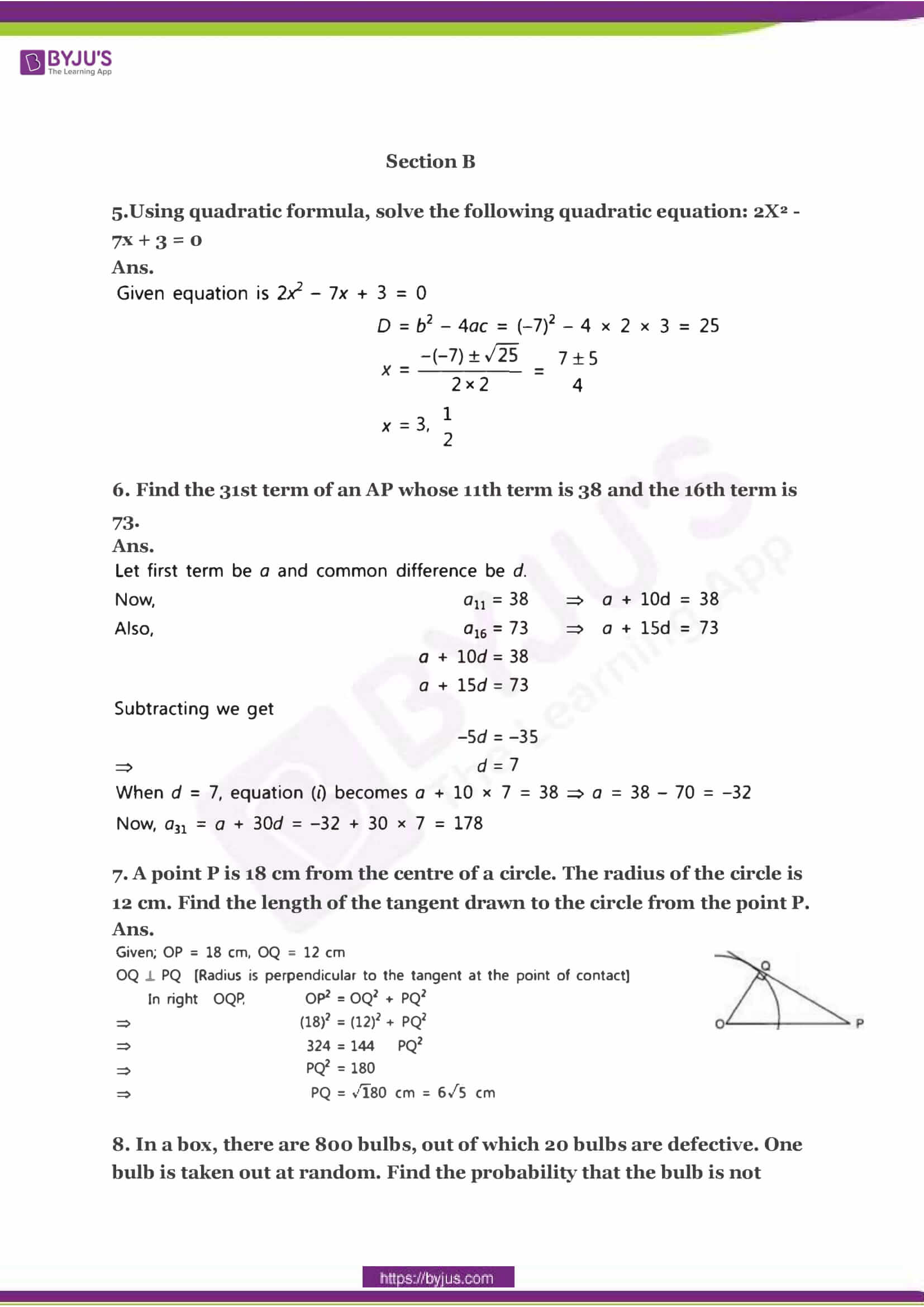 CBSE Class 10 Maths Sample Paper Solution Set 2-02