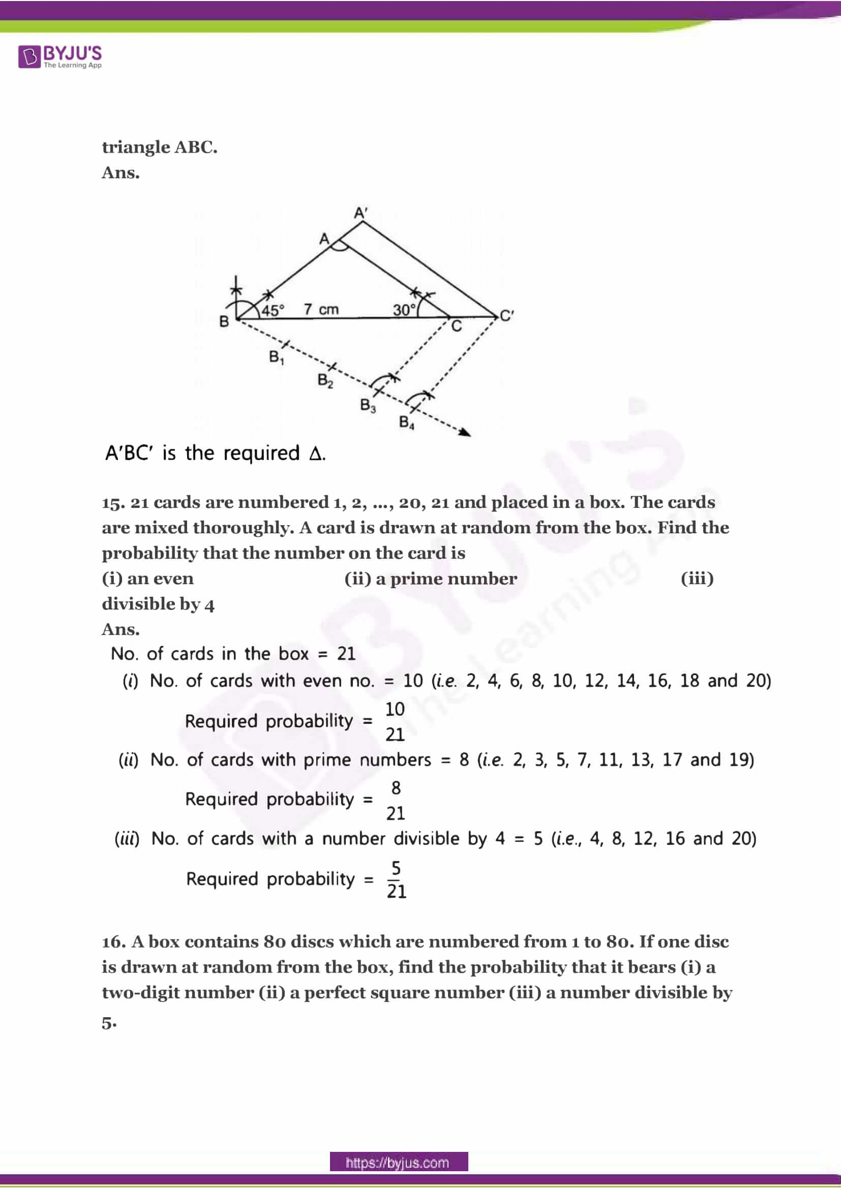 CBSE Class 10 Maths Sample Paper Solution Set 2-05