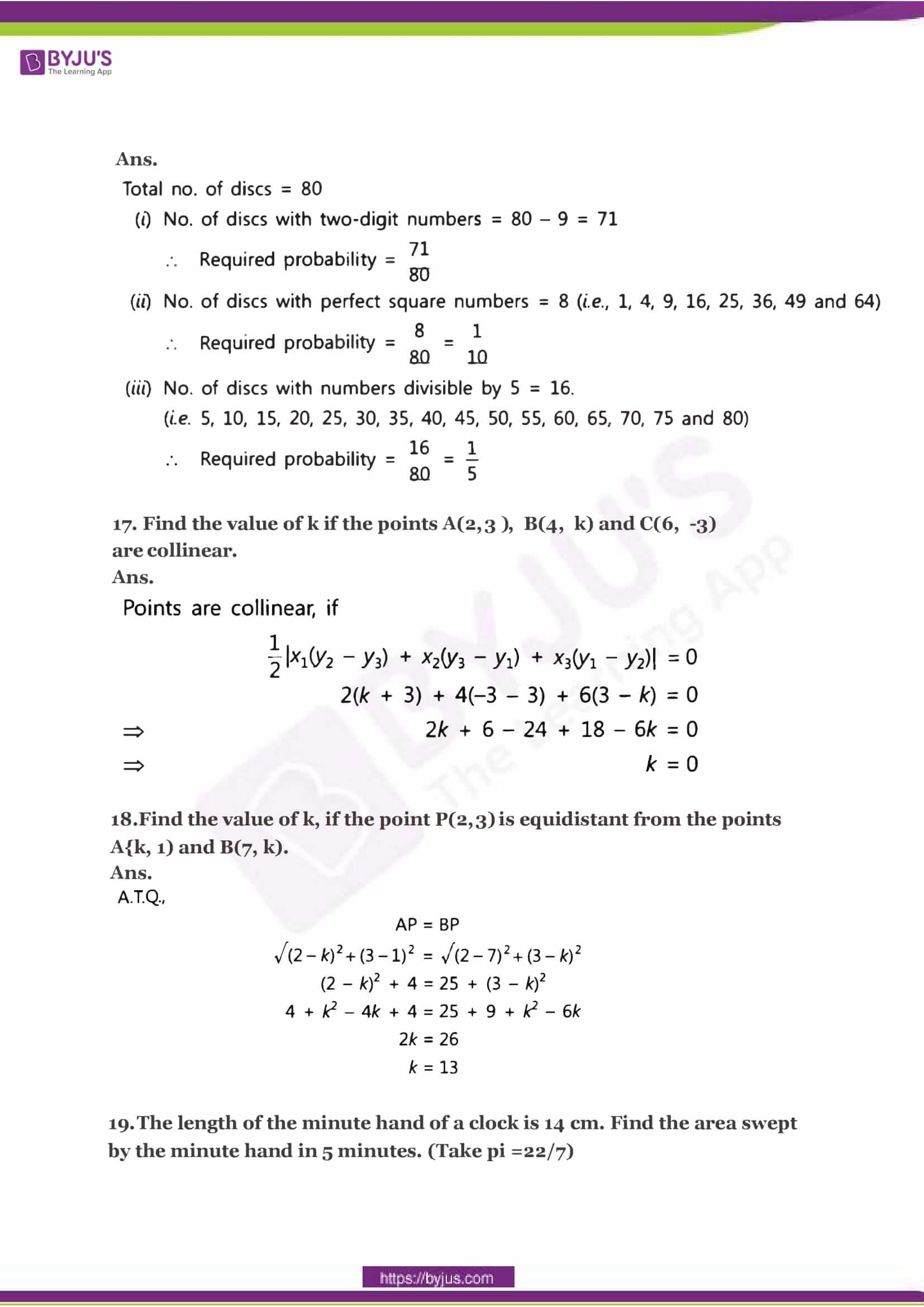 CBSE Class 10 Maths Sample Paper Solution Set 2-06