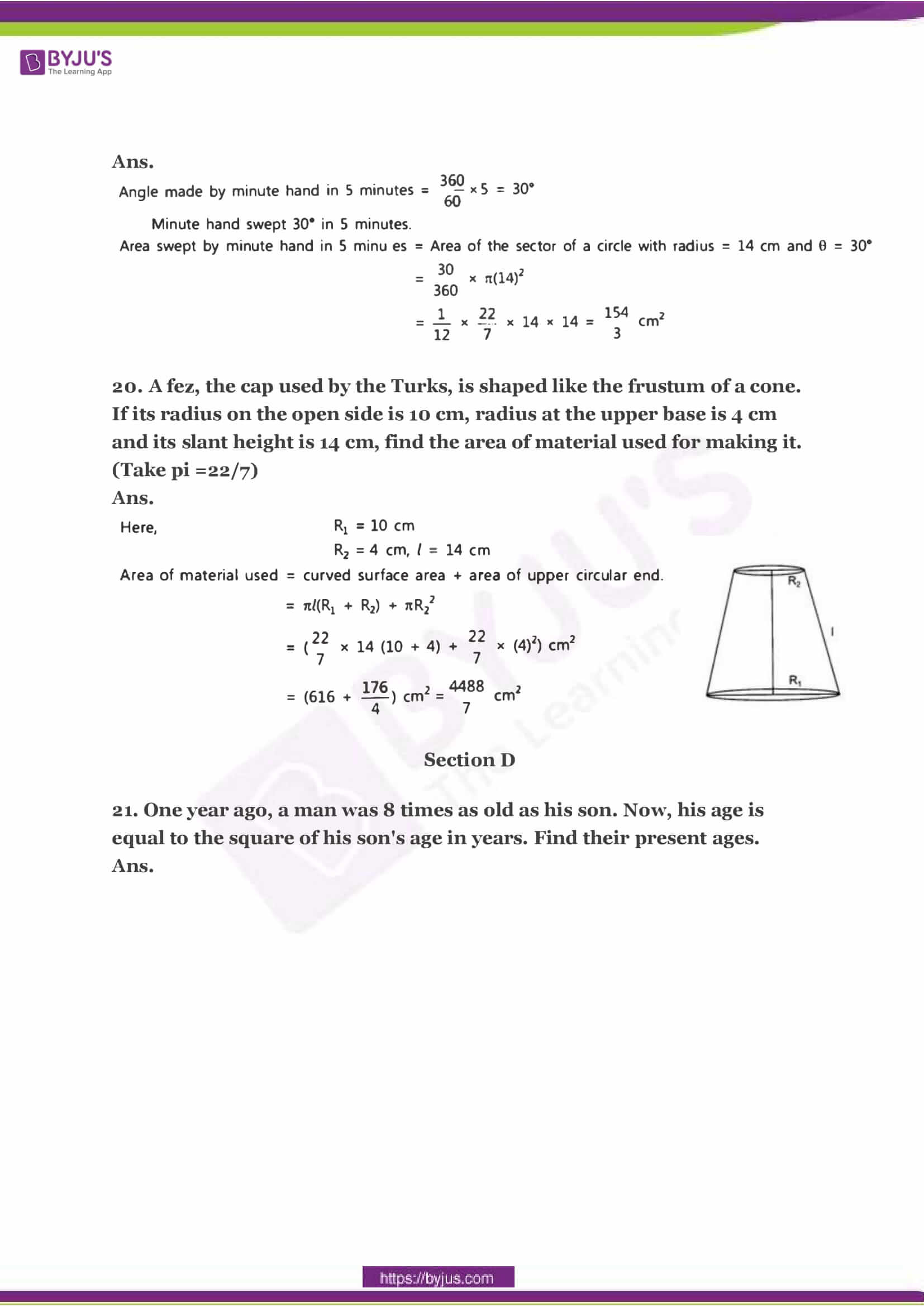 CBSE Class 10 Maths Sample Paper Solution Set 2-07