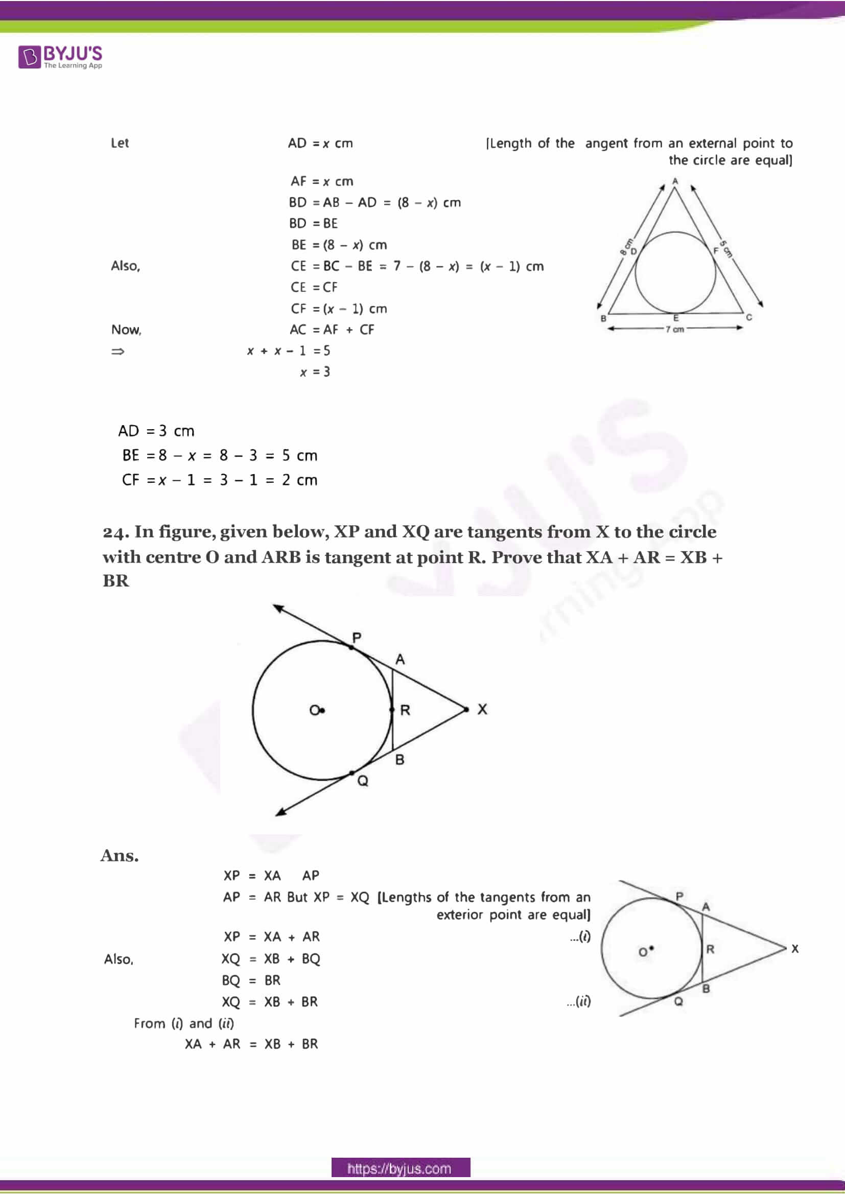 CBSE Class 10 Maths Sample Paper Solution Set 2-10